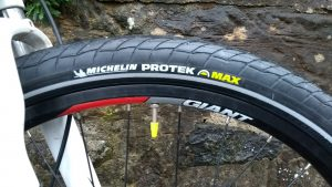 Michelin Protek fitted
